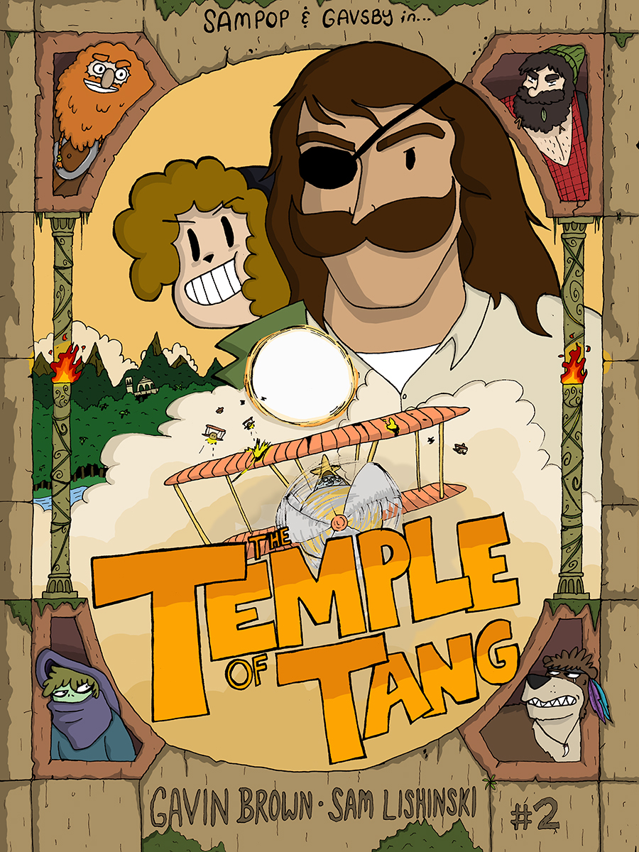The Temple of Tang - Cover